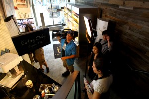 Caffe Bene Times Square Travel Channel