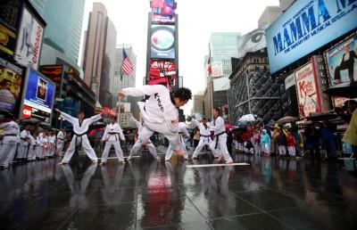 The 2013 Times Square Taekwondo & Kimchi Festival